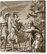 Phineus Is Delivered From The Harpies Canvas Print