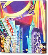 Phish New Years In New York Left Panel Canvas Print