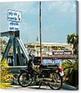 Phnom Penh Harbour Canvas Print