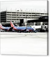 Phoenix Az Southwest Planes Canvas Print