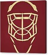 Phoenix Coyotes Goalie Mask Canvas Print