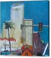 Phoenix Downtown Canvas Print
