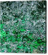 Phone Case - Liquid Flame - Green 2 - Featured 2 Canvas Print