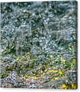 Phone Case - Liquid Flame - Yellow 2 Canvas Print
