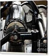 Phonograph Recording Cylinder Canvas Print