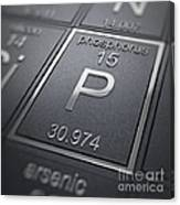 Phosphorus Chemical Element Canvas Print