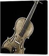 Photograph Of A Complete Viola Violin In Sepia 3368.01 Canvas Print