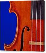 Photograph Of A Viola Violin Side In Color 3372.02 Canvas Print
