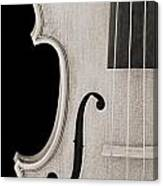 Photograph Of A Viola Violin Side In Sepia 3372.01 Canvas Print