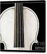 Photograph Or Picture Viola Violin Body In Sepia 3367.03 Canvas Print