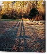 Photographer Shadow Canvas Print