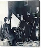 Photography Studio, C1890 Canvas Print