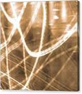 Photon Flow Canvas Print