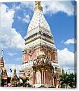 Phra That Raynu In Nako Phanom Thailandhon Phanomthailand Canvas Print