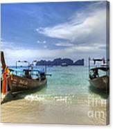Phuket Koh Phi Phi Island Canvas Print