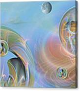 Phun With Quasars Canvas Print