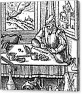 Physician, 1576 Canvas Print
