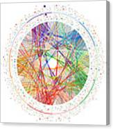 Pi Transition Paths Canvas Print