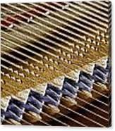 Piano Abstract 6582 Canvas Print