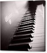 Piano At The Sprague House Canvas Print