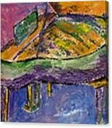 Piano Purple Canvas Print