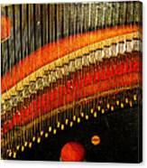 Piano Strings Canvas Print