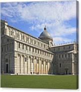 Piazza Del Duomo Pisa Italy  Canvas Print