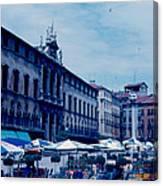 Piazza del Signore 3 1962 Canvas Print