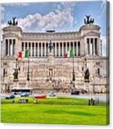 Piazza Vanizia Canvas Print