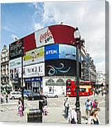 Picadilly Circus London Canvas Print