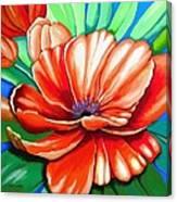 Pick Me Poppy Canvas Print