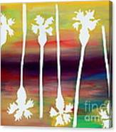 Pick Up Stix Canvas Print