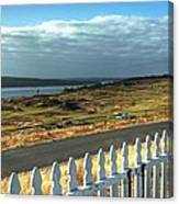 Picket Fence - Chambers Bay Golf Course Canvas Print