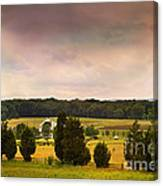 Pickets Charge - Gettysburg - Pennsylvania Canvas Print