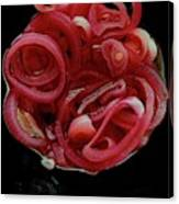Pickled Red Onions Canvas Print