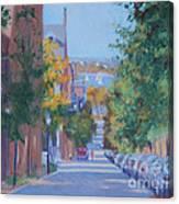 Pickney Street Fall Canvas Print
