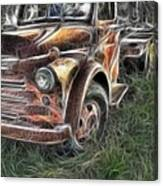 Pickup 2467 Canvas Print