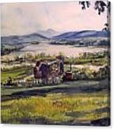 Picnic At Boscobel Canvas Print