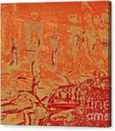 Pictographs Canvas Print
