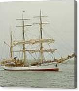 Picton Castle Starboard Canvas Print