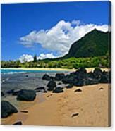 Picture Perfect Haena Beach Canvas Print
