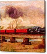 Picture Postcard Canvas Print