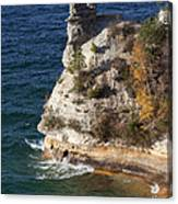 Pictured Rocks National Lakeshore 2 Canvas Print