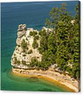 Pictured Rocks National Lakeshore Canvas Print