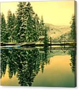 Picturesque Norway Landscape Canvas Print