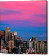 Picturesque Seattle Canvas Print