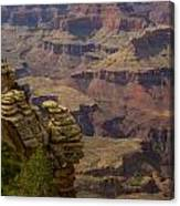 Picturesque View Of The Grand Canyon Canvas Print