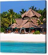 Piece Of Paradise. Maldives Canvas Print