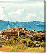 Pienza Italy Canvas Print