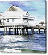 Pier 60 Canvas Print